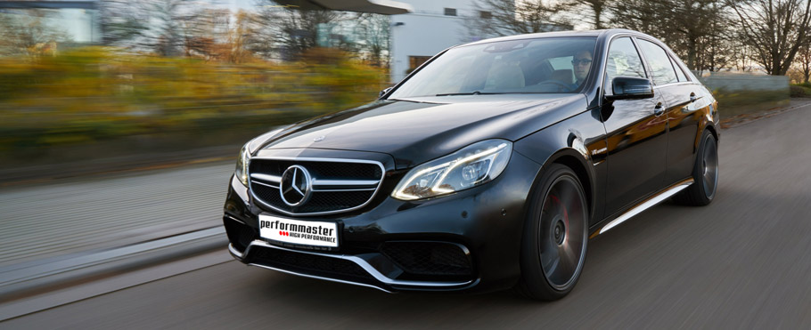 Performmaster Mercedes-Benz E63 AMG Front View