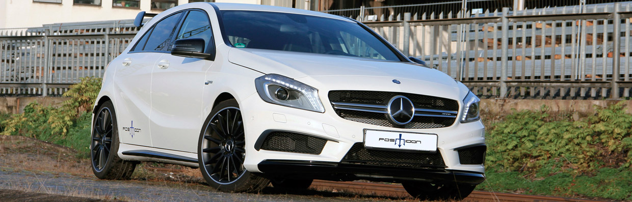Posaidon Mercedes-AMG A45 4MATIC  Front View
