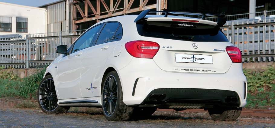 Posaidon Mercedes-AMG A45 4MATIC  Rear View