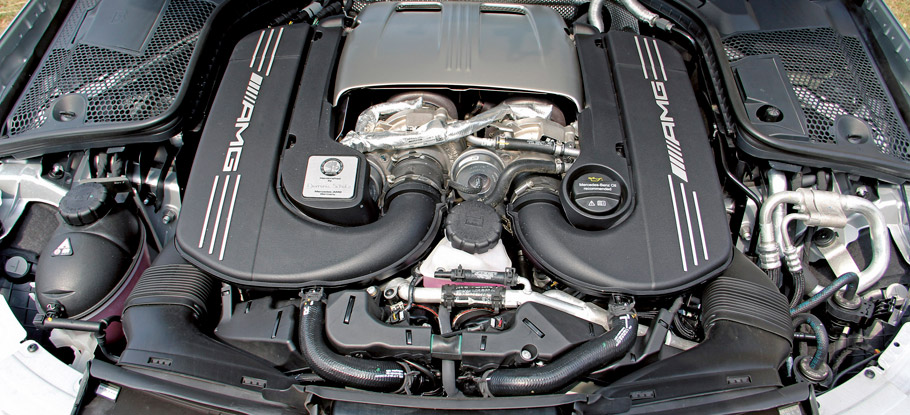 Posaidon Mercedes-AMG C63 Station Wagon Engine
