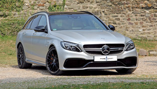 Posaidon Ensures that There is an excess of 700 HP for the Mercedes-AMG C63 Station Wagon