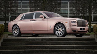 This Rolls-Royce Phantom is Inspired by Sunrise