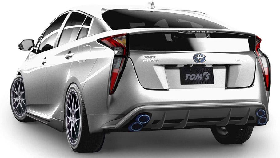 TOM's Racing Toyota Prius Rear View