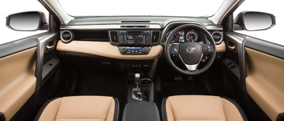 2015 Toyota RAV4 Facelift  Interior