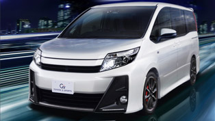 Toyota Unveils Noah G and Voxy G Concept Sporty Vans!