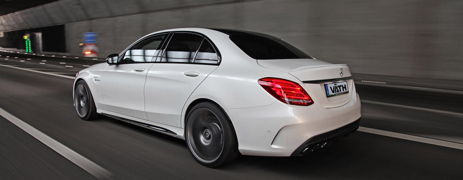 VAETH Mrcedes-Benz C63 AMG Rear View