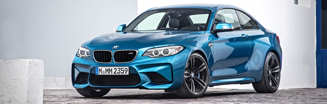 BMW M2 Front View