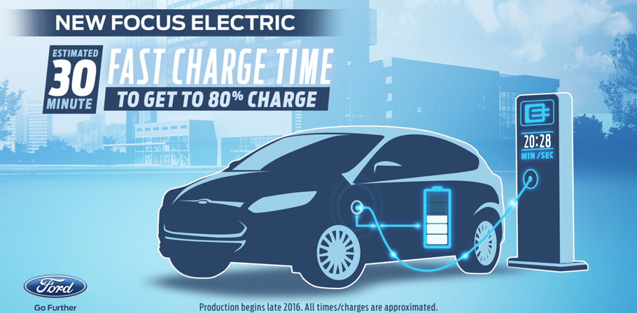 2016 Ford Focus Electric Fast Charge Program