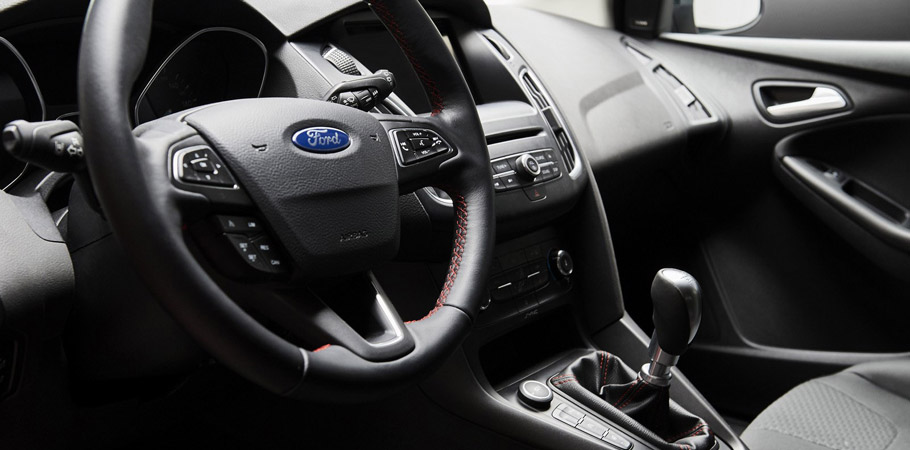Ford Focus Red and Black EditionsInterior