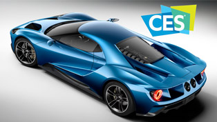 Ford's Latest GT Supercar Is Named Official Vehicle of CES 2016