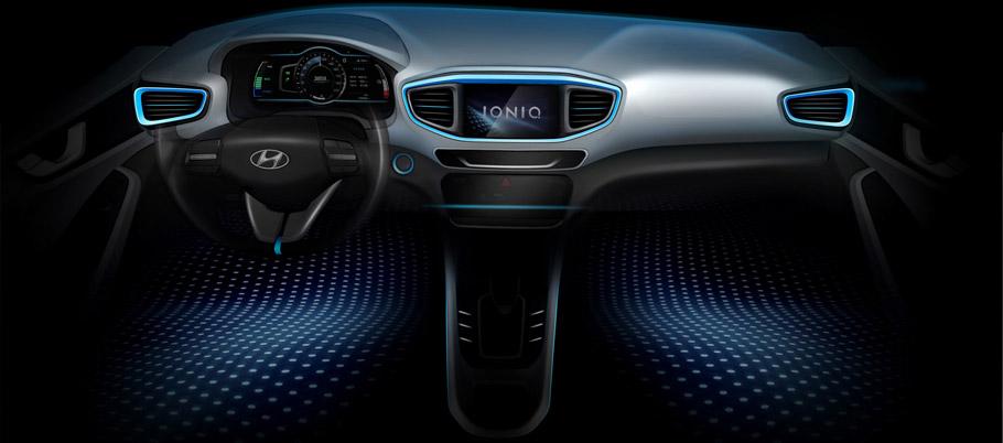 Hyundai IONIQ Iterior Teaser
