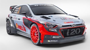 hyundai motorsport reveals i20 challenger wrc rally car
