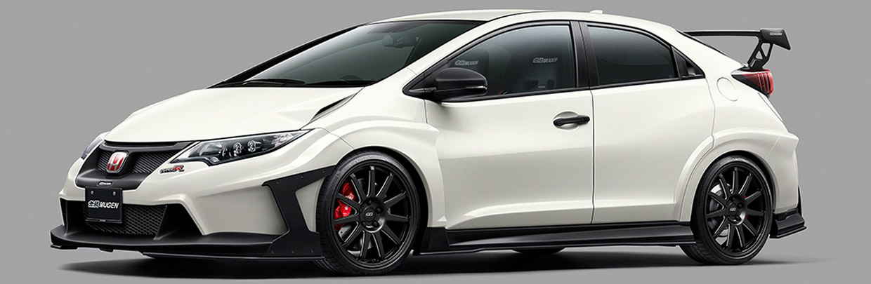Mugen Civic Type R concept Side View