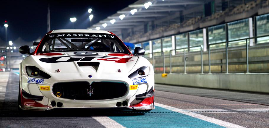 Maserati GranTurismo MC GT4 Front View