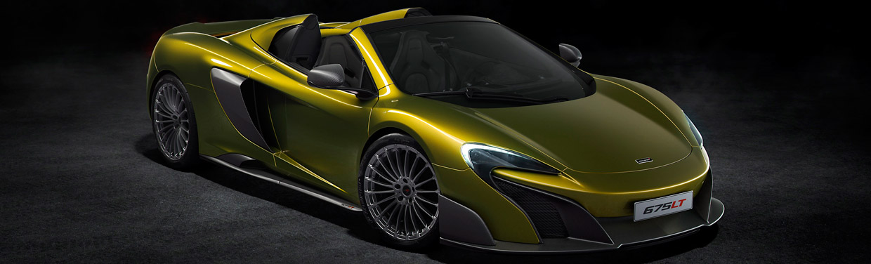 McLaren 675LT Spider Side View