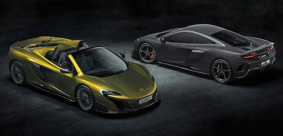 McLaren 675LT Spider and Coupe