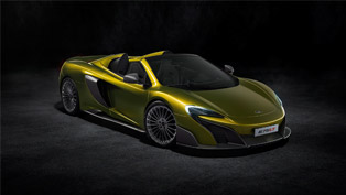 See and Hear the Exclusive McLaren 675LT Spider [VIDEO]