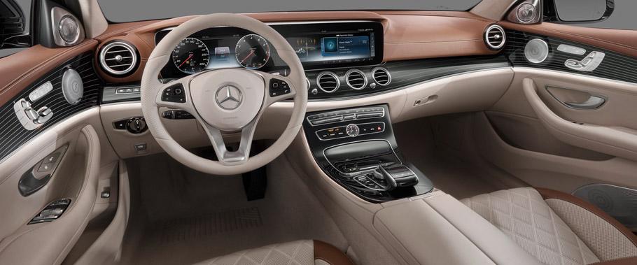 Mercedes-Benz E-Class interior First Image