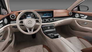 Mercedes-Benz Reveals Inspired-by-the-Future Interior of the E-Class