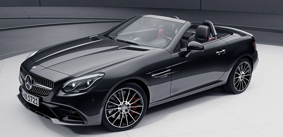 Mercedes-Benz SLC with AMG Night Pack