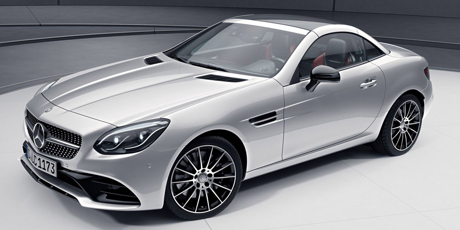 Mercedes-Benz SLC with Night Pack