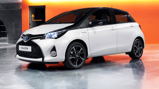 toyota demonstrates the new design pack for yaris lineup