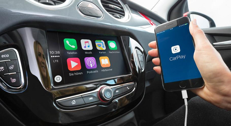 2015 Opel ADAM infotainment system