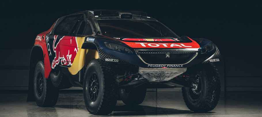 2016 Peugeot 2008 DKR16