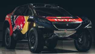 Peugeot 2008 DKR16 Is Ready for the 10,000 km Challenge!