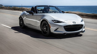 mazda mx-5 with one more prestigious award