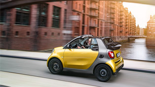This is Why the New smart fortwo cabrio is so Adorable!