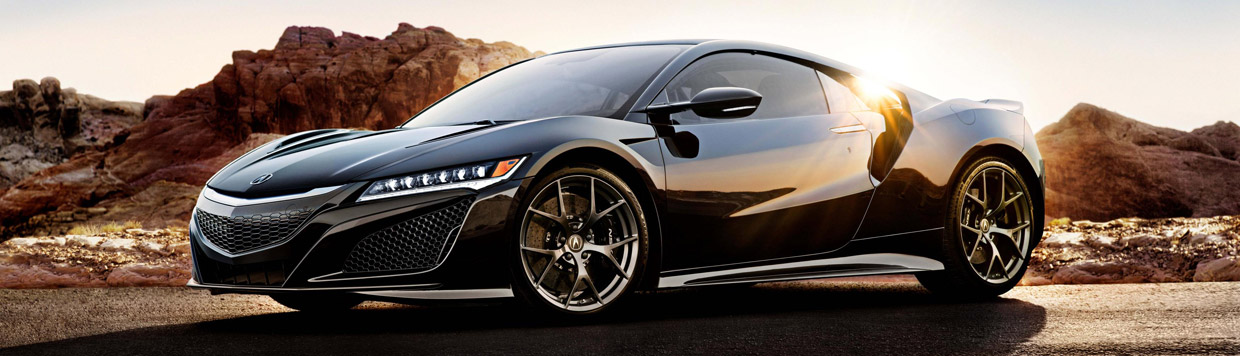 2017 Acura NSX Side View
