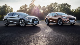 Infiniti Releases More Details About 2017 QX30 Lineup