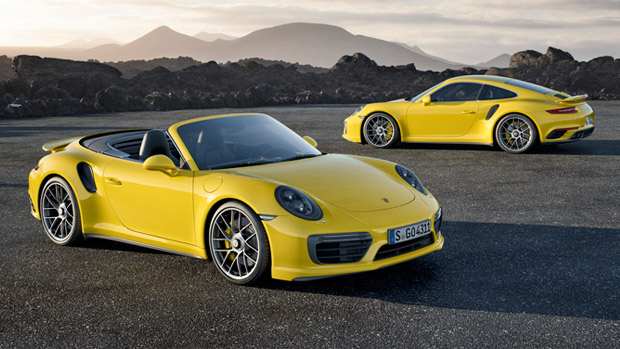 Porsche and the Fairytale for 2017 911 Turbo Models