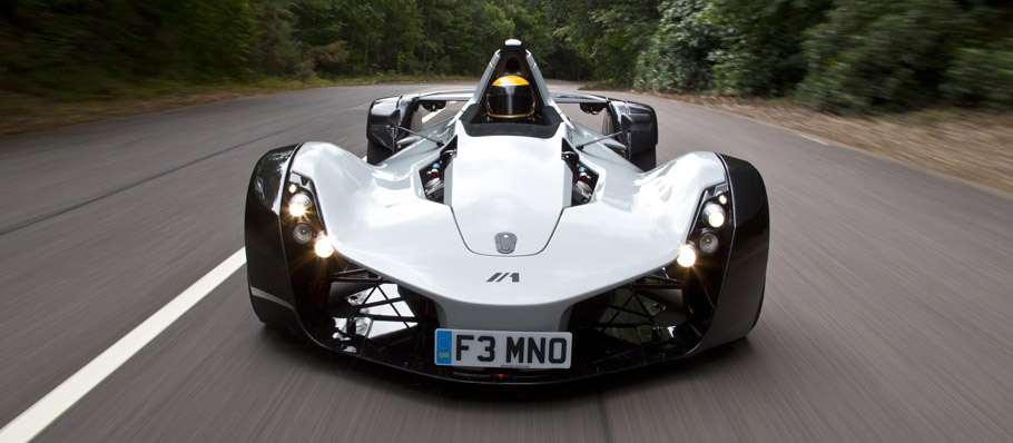 BAC Mono Fornt View