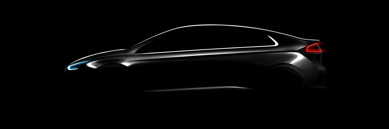 Hyundai IONIQ First Teaser