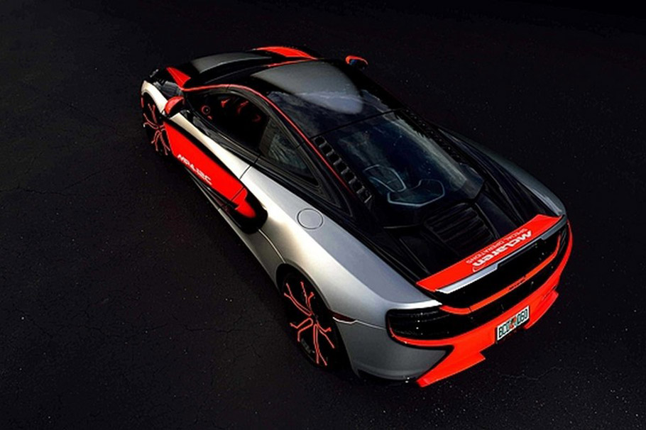 McLaren MP4-12C High Sport From Above