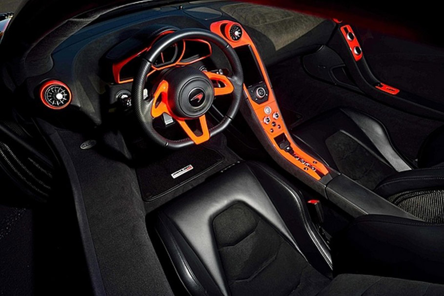 McLaren MP4-12C High Sport Interior