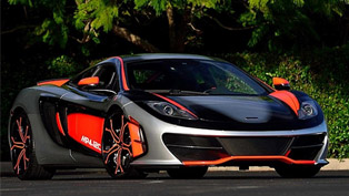One-Off McLaren MP4-12C High Sport Expected to be Auctioned for More than $1.5 Million at Mecum
