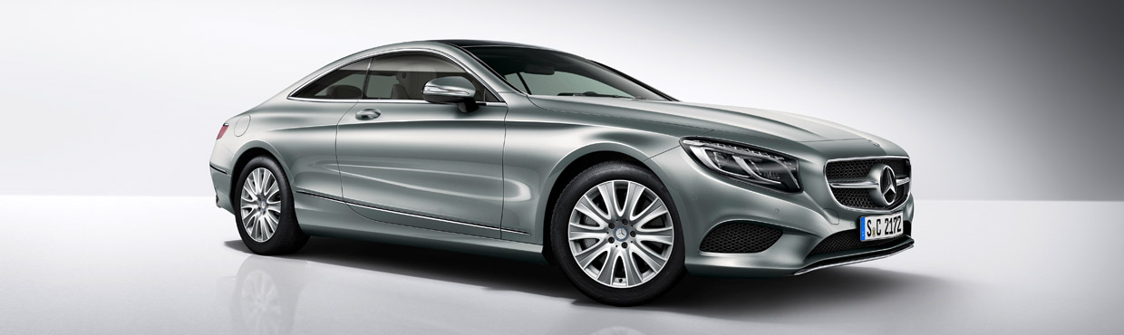 Mercedes-Benz S 400 4MATIC Coupe Front View