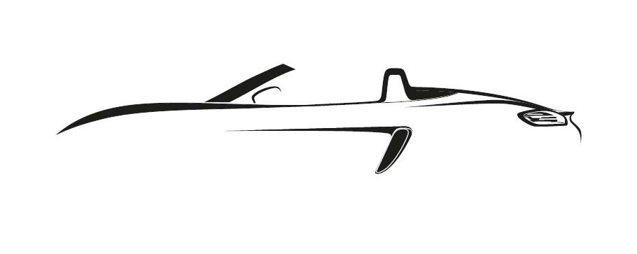 Porsche 718 Boxster Teaser