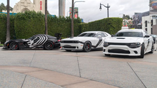 Darth Vader's Viper ACR and Stormtrooper's Challenger and Charger Take Over L.A. [VIDEO]