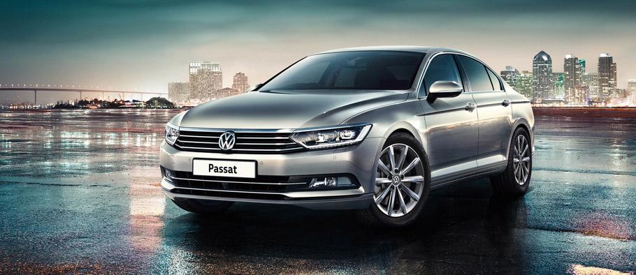 Volkswagen Passat SE Business Front View