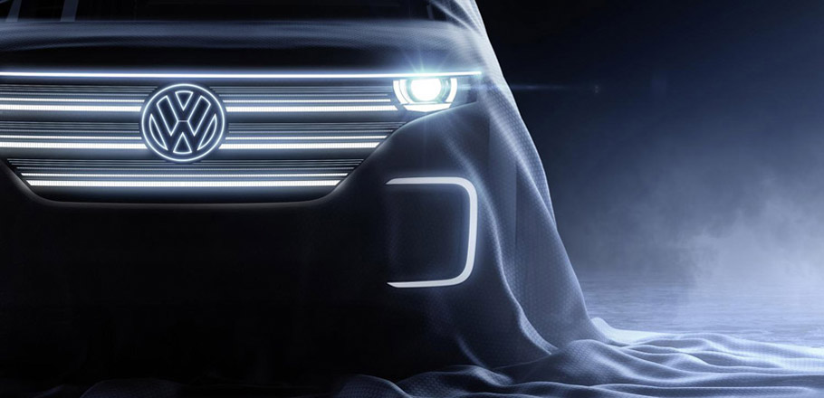 VW CES Concept Car - First Teaser Image
