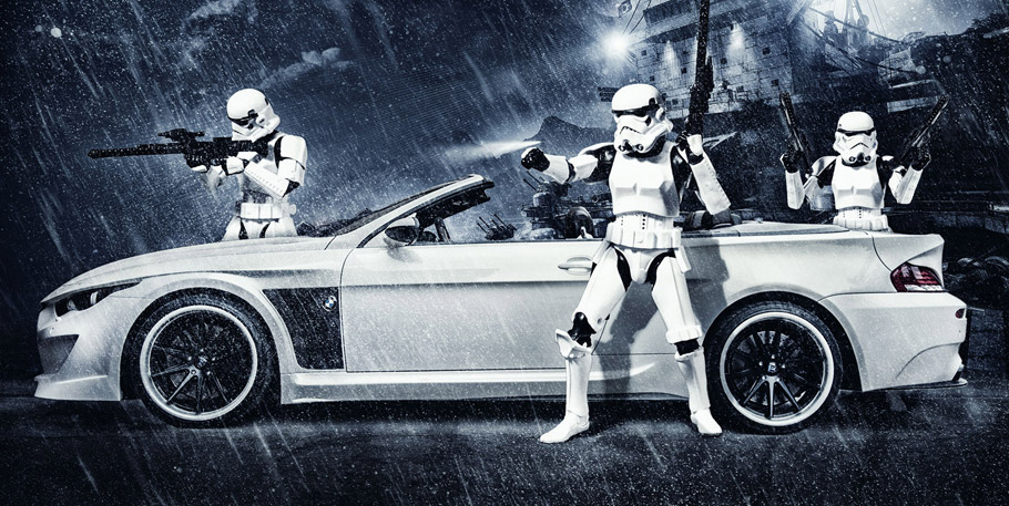 Vilner BMW Stormtrooper with Stormtroopers