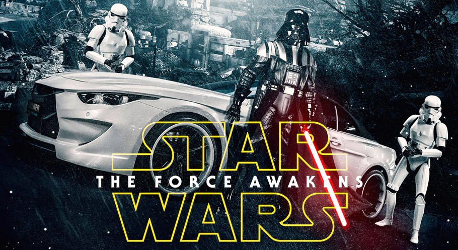 Top 5 of the Most Attractive Star Wars Themed Cars