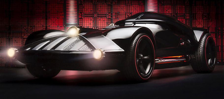 Hot Wheels Darth Vader Car  Exterior