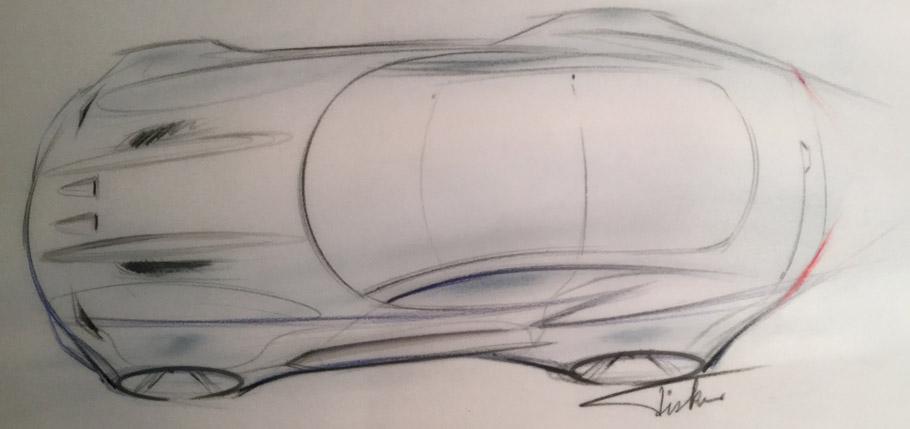 The Force 1 Teaser Sketch