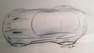 "Henrik Fisker Shows Sketch of Next American Super Car ""The Force 1"""