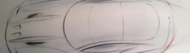 "Henrik Fisker Shows Sketch of Next American Super Car ""The Force 1"""